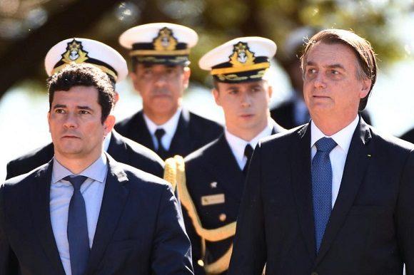 Jair Bolsonaro despide al jefe de la Policía Federal y Sergio Mororenuncia